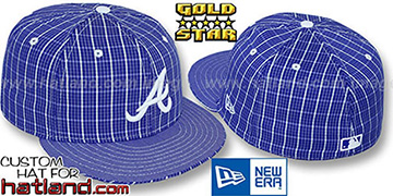 Braves HOLLYWOOD SQUARES  Fitted Hat by New Era
