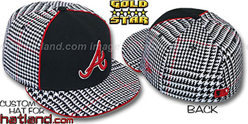 Braves 'HOUND DOG' Fitted Hat by New Era