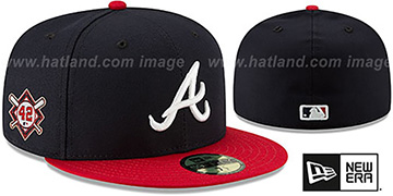 Braves 'JACKIE ROBINSON' HOME Hat by New Era