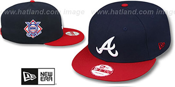 Braves LEAGUE REPLICA HOME SNAPBACK Hat by New Era