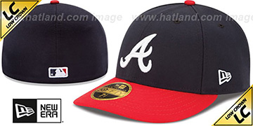 Braves 2017 LOW-CROWN ONFIELD HOME Fitted Hat by New Era