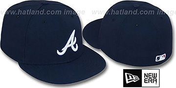 Braves 'PERFORMANCE ROAD' Hat by New Era