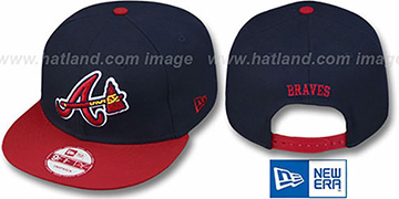 Braves 'REPLICA ALTERNATE SNAPBACK' Hat by New Era
