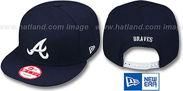 Braves REPLICA ROAD SNAPBACK Hat by New Era