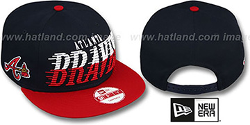 Braves 'SAILTIP SNAPBACK' Navy-Red Hat by New Era