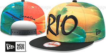 Brazil 'REALLY RIO SNAPBACK' Hat by New Era