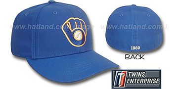 Brewers 1989 'HOME' Hat by Twins - royal
