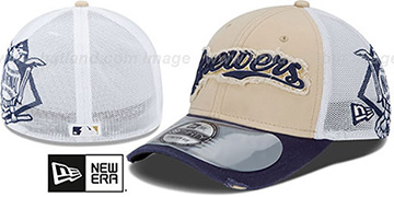 Brewers 2013 CLUBHOUSE 39THIRTY Flex Hat by New Era