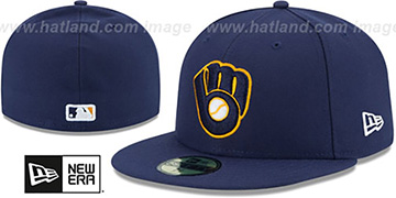 Brewers AC-ONFIELD ALTERNATE-2 Hat by New Era