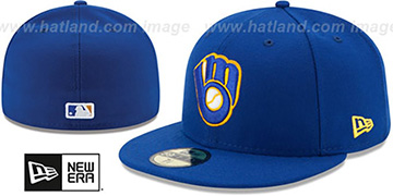 Brewers 'AC-ONFIELD ALTERNATE' Hat by New Era
