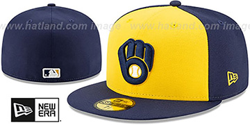 Brewers AC-ONFIELD ALTERNATE Hat by New Era