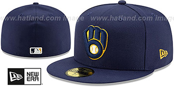 Brewers 'AC-ONFIELD HOME' Hat by New Era