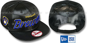 Brewers COOP 'REDUX SNAPBACK' Black Hat by New Era