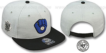 Brewers COOP 'SATCHEL SNAPBACK' Adjustable Hat by Twins 47 Brand