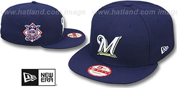 Brewers LEAGUE REPLICA GAME SNAPBACK Hat by New Era