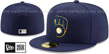 Brewers 'PERFORMANCE ALTERNATE-2' Hat by New Era