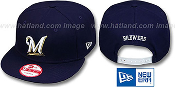 Brewers REPLICA GAME SNAPBACK Hat by New Era