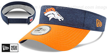Broncos 18 NFL STADIUM Navy-Orange Visor by New Era