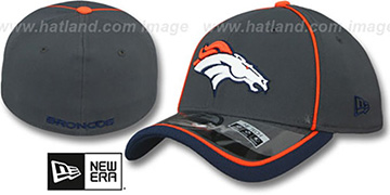 Broncos 2014 NFL STADIUM FLEX Grey Hat by New Era