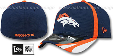 Broncos '2014 NFL TRAINING FLEX' Navy Hat by New Era