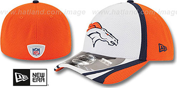 Broncos 2014 NFL TRAINING FLEX White Hat by New Era