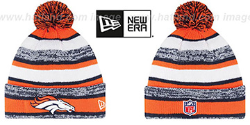 Broncos '2014 STADIUM' Knit Beanie Hat by New Era