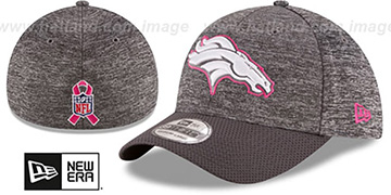 Broncos 2016 BCA FLEX Grey-Grey Hat by New Era
