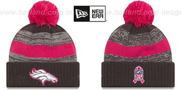 Broncos 2016 BCA STADIUM Knit Beanie Hat by New Era