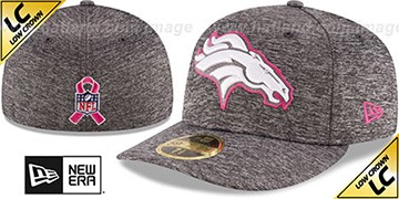 Broncos 2016 LOW-CROWN BCA Grey Fitted Hat by New Era