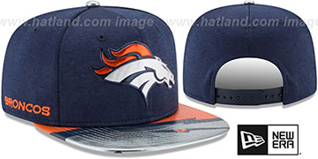 Broncos 2017 NFL ONSTAGE SNAPBACK Hat by New Era