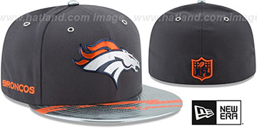 Broncos '2017 SPOTLIGHT' Charcoal Fitted Hat by New Era