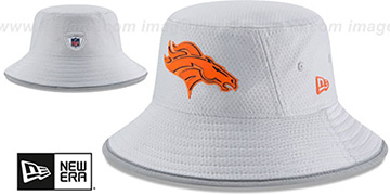 Broncos 2018 NFL TRAINING BUCKET Grey Hat by New Era