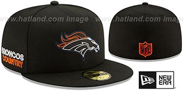 Broncos '2020 NFL VIRTUAL DRAFT' Black Fitted Hat by New Era