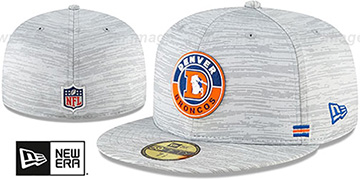 Broncos '2020 THROWBACK ONFIELD STADIUM' Heather Grey Fitted Hat by New Era