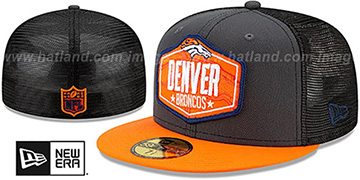 Broncos '2021 NFL TRUCKER DRAFT' Fitted Hat by New Era