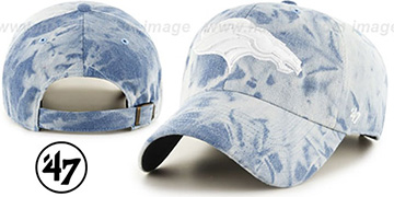 Broncos 'ACID WASH STRAPBACK' Hat by Twins 47 Brand