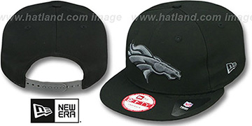 Broncos 'FADEOUT SNAPBACK' Black-Grey Hat by New Era