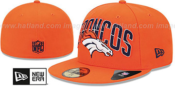 Broncos 'NFL 2013 DRAFT' Orange 59FIFTY Fitted Hat by New Era