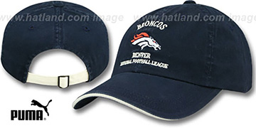 Broncos 'NFL WASHED' Strapback Hat by Puma