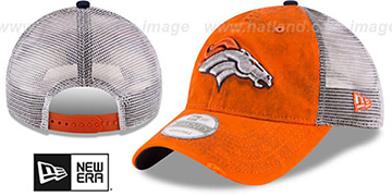 Broncos 'RUSTIC TRUCKER SNAPBACK' Hat by New Era