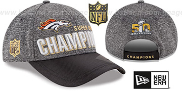Broncos 'SUPER BOWL 50 CHAMPS' Strapback Hat by New Era