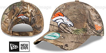 Broncos 'THE LEAGUE REALTREE' Strapback Hat by New Era
