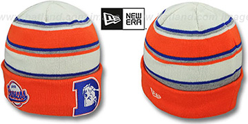 Broncos THROWBACK 'WINTER TRADITION' Knit Beanie Hat by New Era