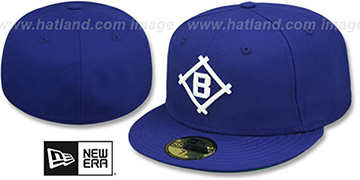 Brooklyn Dodgers '1912 COOPERSTOWN' Fitted Hat by New Era