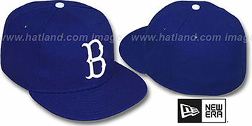 Brooklyn Dodgers '1939-57 COOPERSTOWN' Fitted Hat by New Era