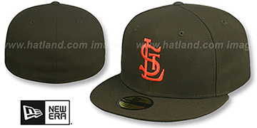 Browns 1934 COOPERSTOWN Fitted Hat by New Era