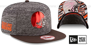 Browns 2016 NFL DRAFT SNAPBACK Hat by New Era