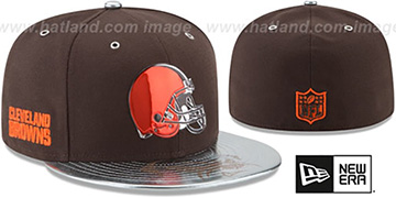 Browns 2017 SPOTLIGHT Fitted Hat by New Era