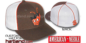 Browns Cooperstown 'BACKTRAX' Hat by Amercan Needle