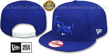 Browns TRACE TEAM-BASIC SNAPBACK Royal-White Hat by New Era